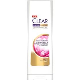 Бальзам для волос Clear «Восстановление повреждённых и окрашенных волос», 180 мл