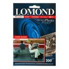 Фотобумага для струйной печати A6 LOMOND Super Glossy, 1101113, 200 г/м?, 20 листов, односторонняя, глянцевая