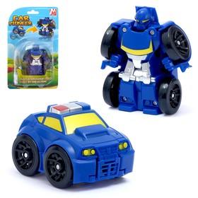 Робот «Полицейский», трансформируется, мгновенная трансформация