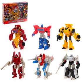 Набор трансформеров «Супер команда»
