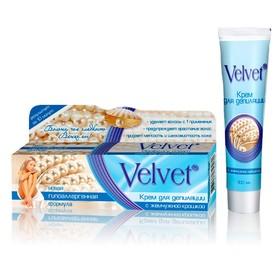 Крем для депиляции Velvet, с жемчужной крошкой, 100 мл