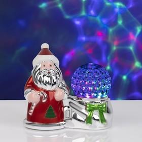 Световая фигура 'Дед Мороз и шар', LED-3-220V Ош