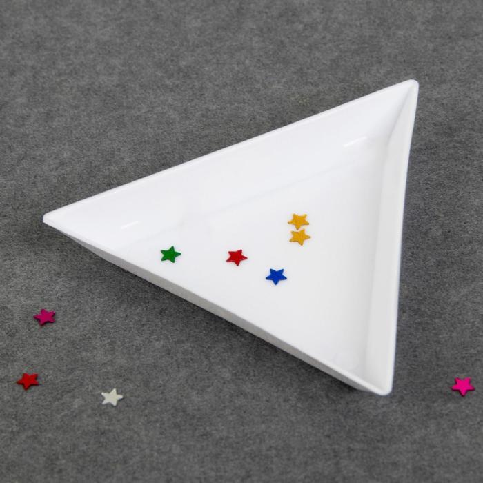 Контейнер для декора, 7 7 см, цвет белый