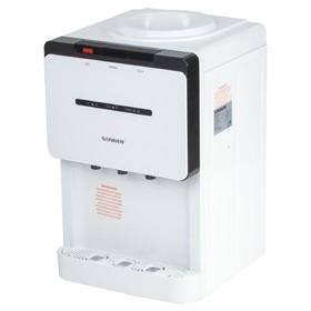 Кулер для воды SONNEN TSE-02, нагрев и охлаждение, 420 Вт/75 Вт, бело-чёрный Ош