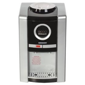 Кулер для воды SONNEN TEB-02, нагрев и охлаждение, 550 Вт/75 Вт, серебристый Ош