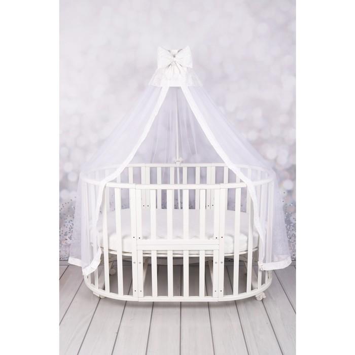 Балдахин для детской кроватки Moonlight, размер 150 × 300 см, цвет белый
