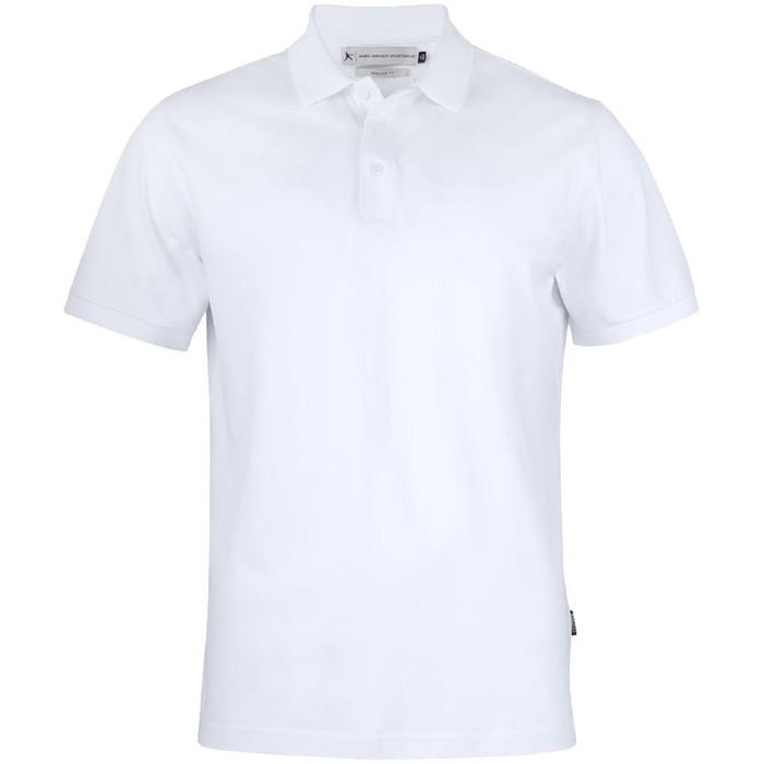 Рубашка поло мужская Sunset, размер L, цвет белый
