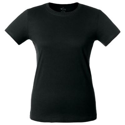 Футболка женская T-bolka Lady, размер L, цвет чёрный
