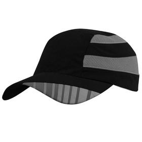 Бейсболка Ben Nevis со светоотражающим элементом, цвет чёрный