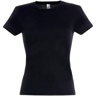 Футболка женская MISS 150, размер S, цвет чёрный