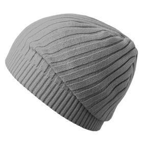 Шапка Stripes, цвет серый