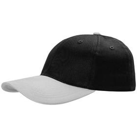 Бейсболка Ben Loyal, цвет чёрный, серый