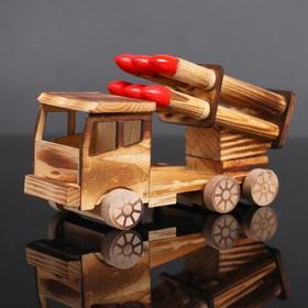 Игрушка деревянная «Катюша» 8×20×12 см Ош