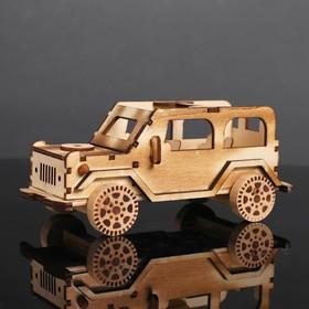 Игрушка деревянная «Автомобиль» 10×21.5×9.2 см Ош