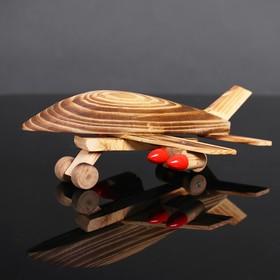 Игрушка деревянная «Самолёт» 16×24×10 см Ош