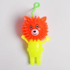 Ёжка «Мишка», световой, с пищалкой, цвета МИКС Ош