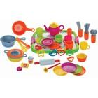 Набор игрушечной посуды «Кулинар № 2», 52 предмета