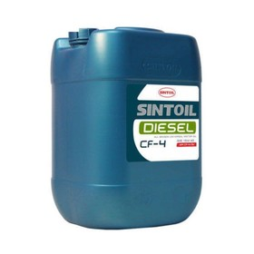 Масло моторное Sintoil/Sintec 15W-40, Diesel, CF-4/SJ, дизель, 20 л