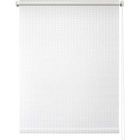 Рулонная штора «Плаза», 48х175 см, цвет белый Ош