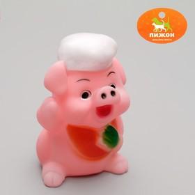 Игрушка пищащая 'Веселые свинки', микс видов Ош