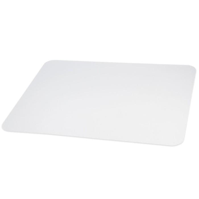 Коврик защитный для напольных покрытий BRABIX, поликарбонат, 100х120 см, глянец, 1 мм