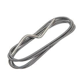 Трос сантехнический 'СТМ' ЭКОНОМ, стальной, d=6 мм, L=2 м Ош