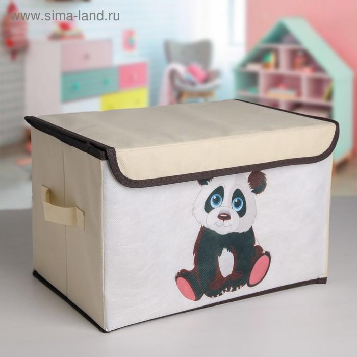 Короб для хранения «Малыш панда»
