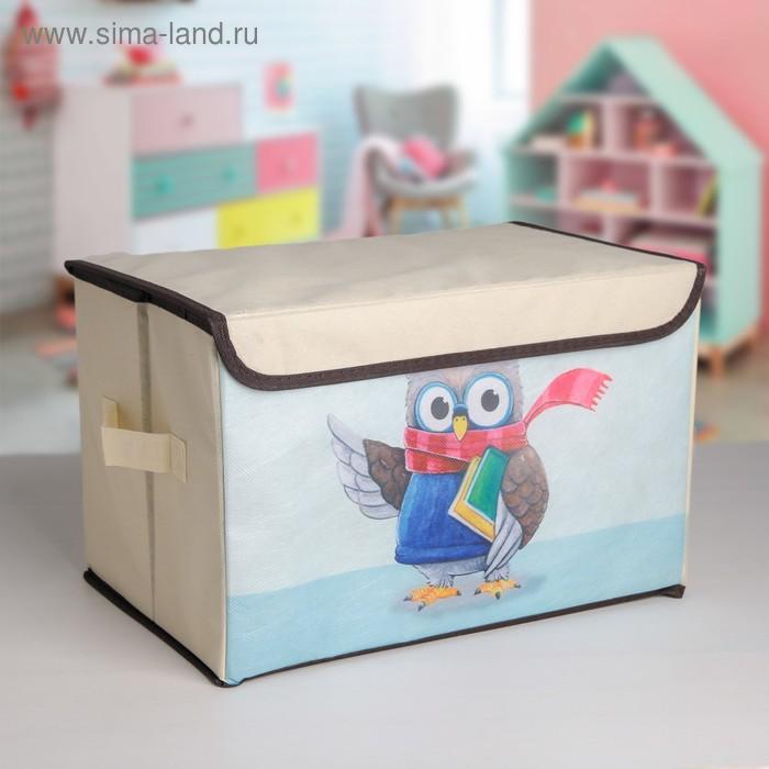 Короб для хранения «Умная сова»