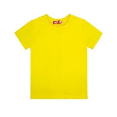 Футболка детская, рост 158, жёлтый - Фото 1
