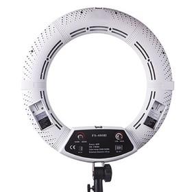 Кольцевая лампа OKIRA LED RING FS 480, 48 Вт, 480 светодиодов, d=45 см, + штатив, белая Ош