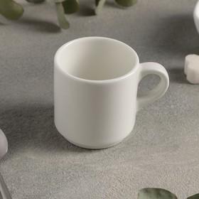 Кружка для эспрессо 90 мл «Prime», цвет белый