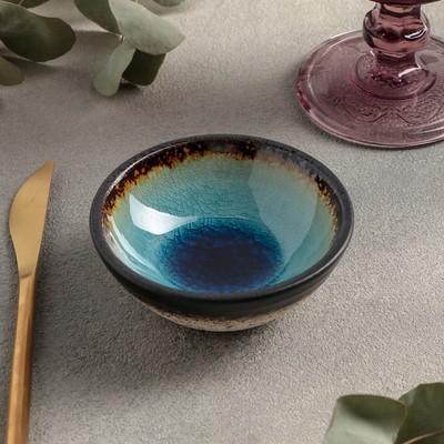 Соусник Fervido, 9,3×3,5 см, 100 мл, цвет голубой - Фото 1