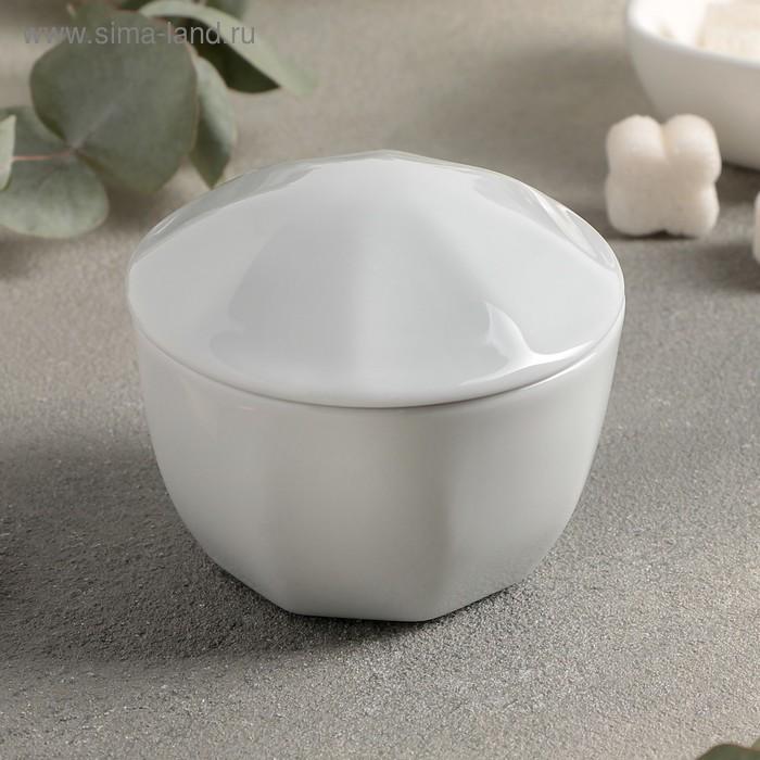 Сахарница с крышкой «Lebon», 170 мл, цвет белый