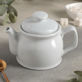 Чайник «Soley», 450 мл, цвет белый