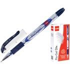 """Ручка гелевая Cello """"Flo Gel Dlx"""" узел 0.5мм, чернила синие, грип 565"""