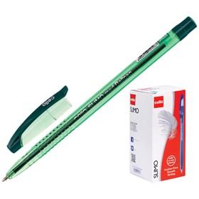 """Ручка шариковая Cello """"Slimo"""" узел 1.0мм, чернила зеленые 348"""