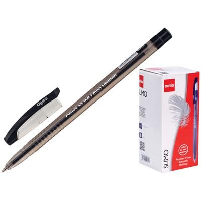 Ручка шариковая Cello Slimo узел 1мм, чернила черные 1666 цена за 1шт. - Фото 1