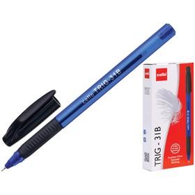 Ручка шариковая Cello 'Tri-Grip blue barrel' узел 0.7мм, чернила синие, грип 747 Ош