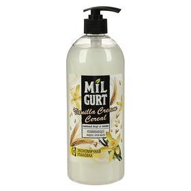 Жидкое мыло Milgurt «Ванильный йогурт со злаками», 860 г
