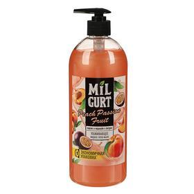 Жидкое мыло Milgurt «Персик и маракуйя в йогурте», 860 г