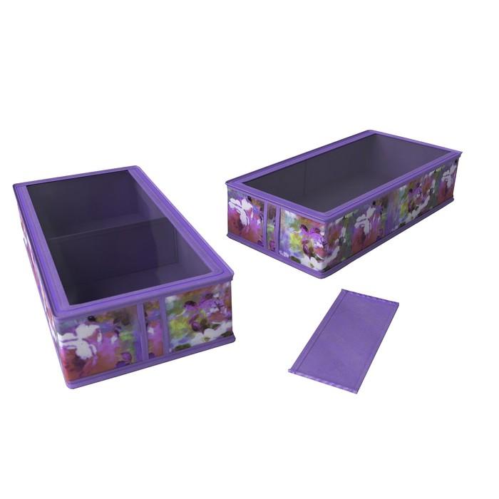 Короб для сапог и полусапожек «Акварель», 26х52х12 см