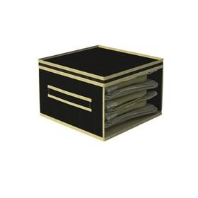 Кофр малый «Классик чёрный», 30х30х20 см
