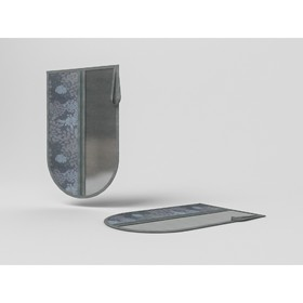 Сумочка-чехол для одной пары обуви «Серебро», 45х30 см