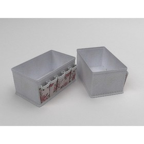 Чехол для мелочей «Шебби Нью», жёсткий, 25х15х12 см