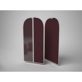 Чехол для одежды малый «Классик бордо», 60х100 см Ош