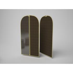 Чехол для одежды малый «Классик коричневый», 60х100 см Ош