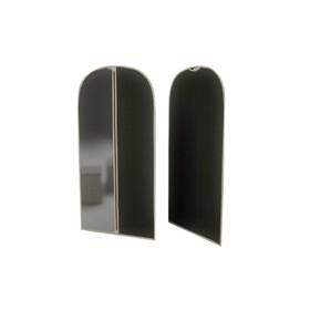 Чехол для одежды малый «Классик чёрный», 60х100 см Ош