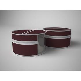 Чехол для шапок «Классик бордо», диаметр 35 см