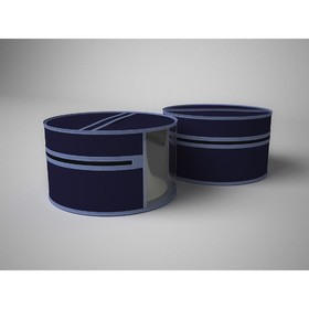 Чехол для шапок «Классик синий», диаметр 35 см