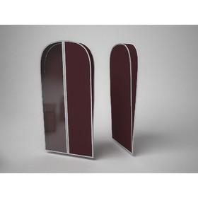 Чехол объемный для одежды малый «Классик бордо», 60х100х10 см